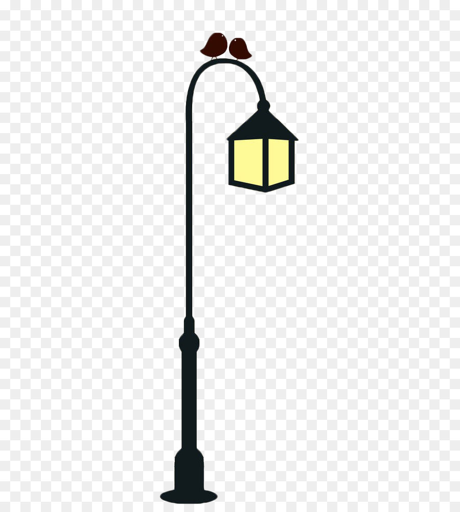 street light light fixture candelabra icon - hand painted street light poles png download