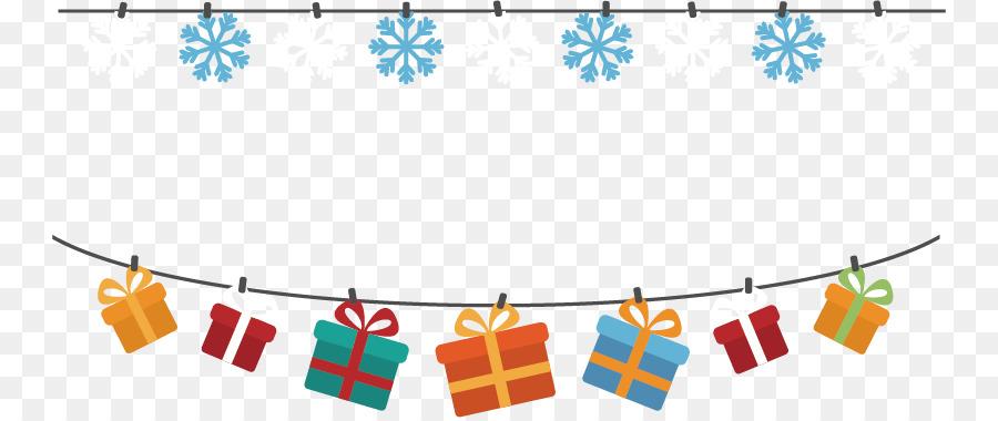 Weihnachts Geschenk Banner Clip Art Vector Snowflake Christmas