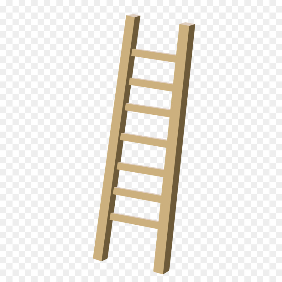 Ladder Stairs Wood Icon   Yellow Texture Wooden Ladder