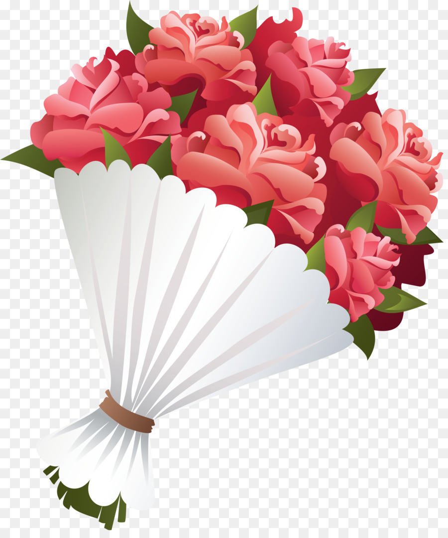 Flower bouquet Rose Clip art - bouquet png download - 4710*5576 ...