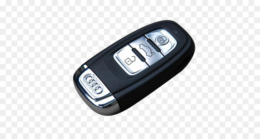 Audi Car MercedesBenz Key BMW Audi Black Keys Png Download - Audi car key