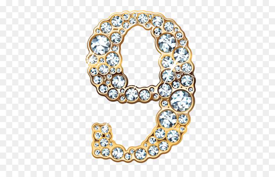 Numerical Digit Jewellery png download - 671*568 - Free Transparent