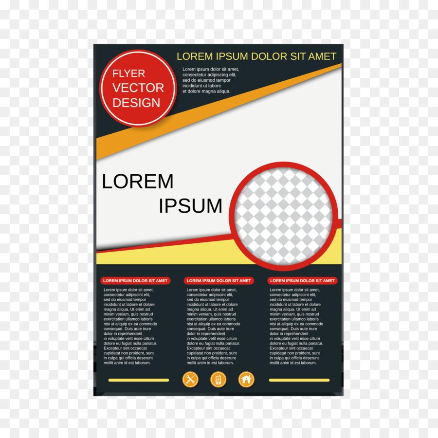 simple single page brochure design