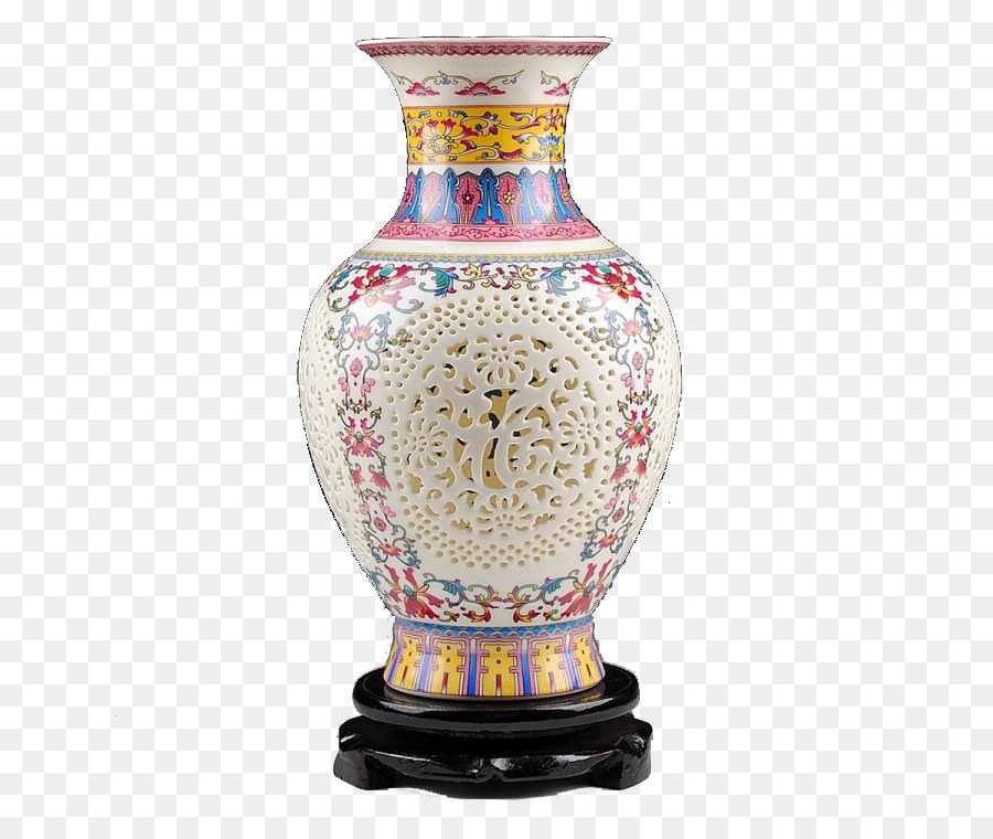 China Vase Chinese Ceramics Flower Retro Vase Png Download 750