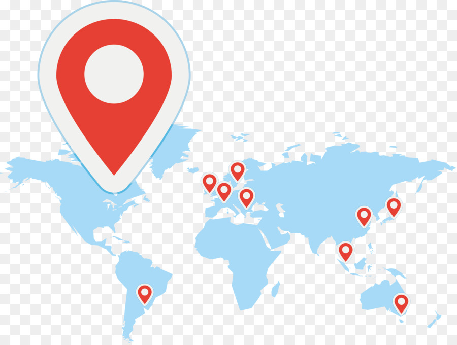 World map Vector Map - Vector Location Map png download - 2589*1946 ...