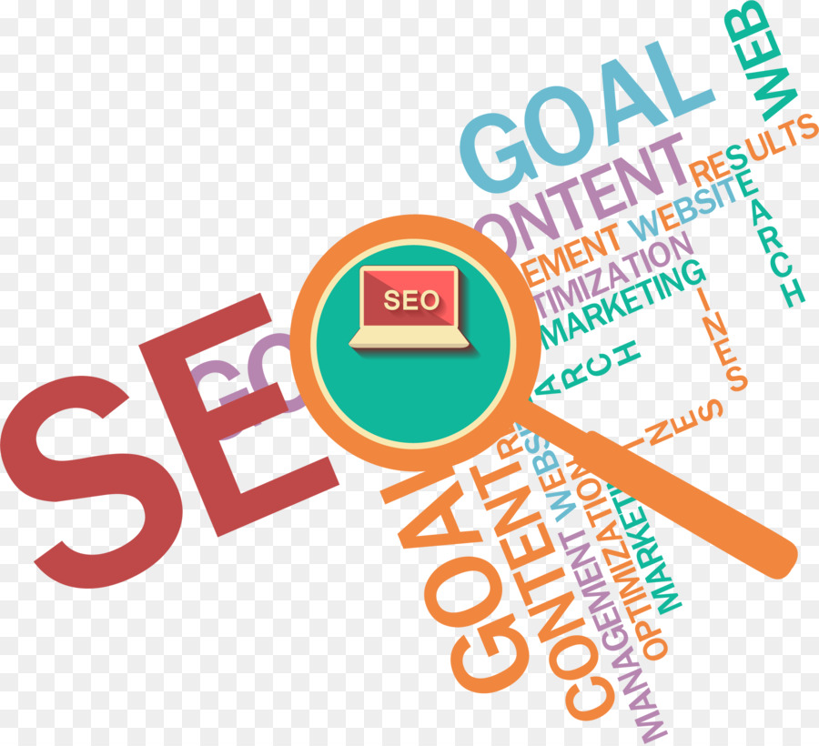 digital marketing search engine optimization online advertising content marketing orange magnifying glass wall ppt creative writing