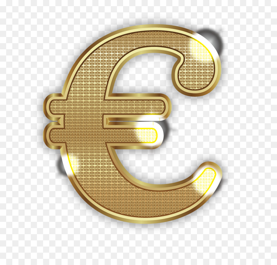 Euro Sign Currency Symbol Money Vector Glowing Euro Png Download
