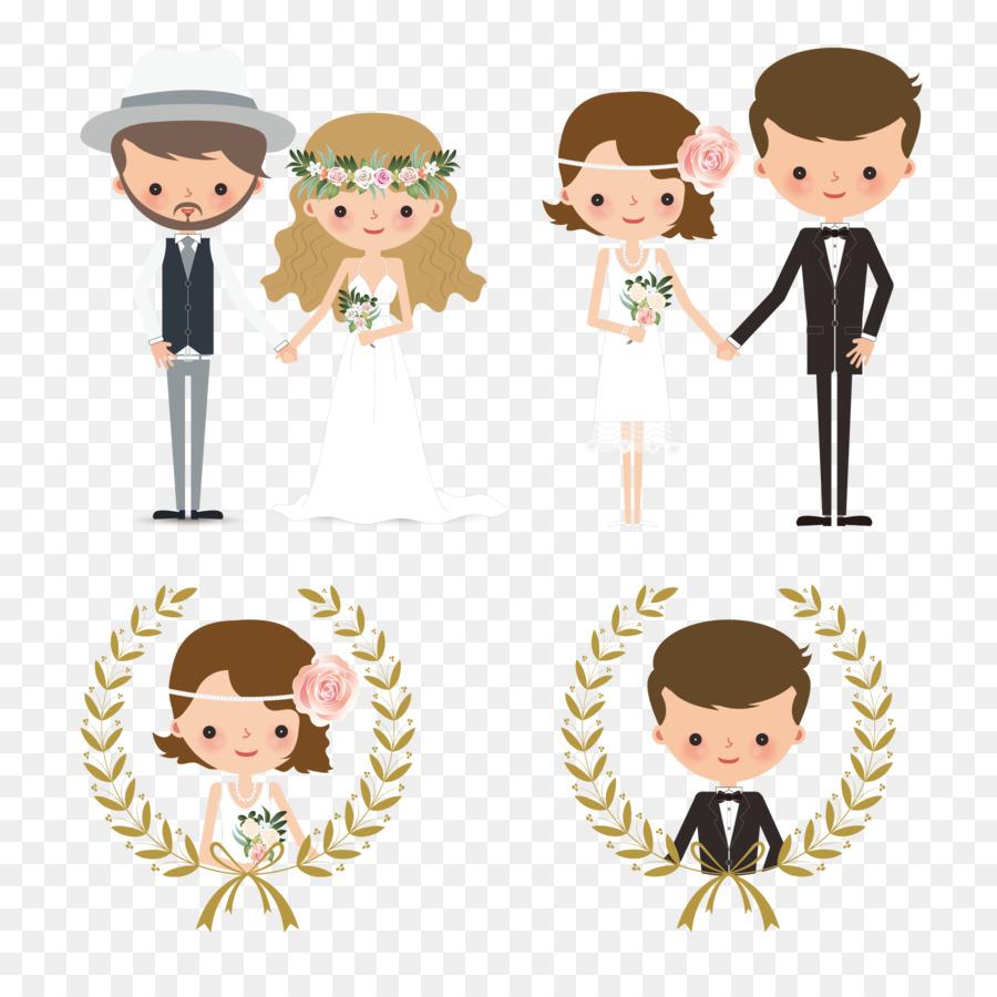 Wedding invitation Bridegroom Wedding cake - Creative wedding couple ...
