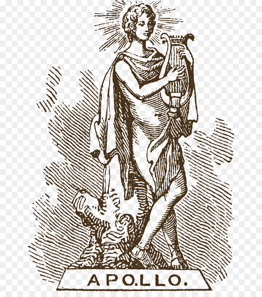 Apollo Greek Mythology Artemis Hera Deity Harp Goddess Png