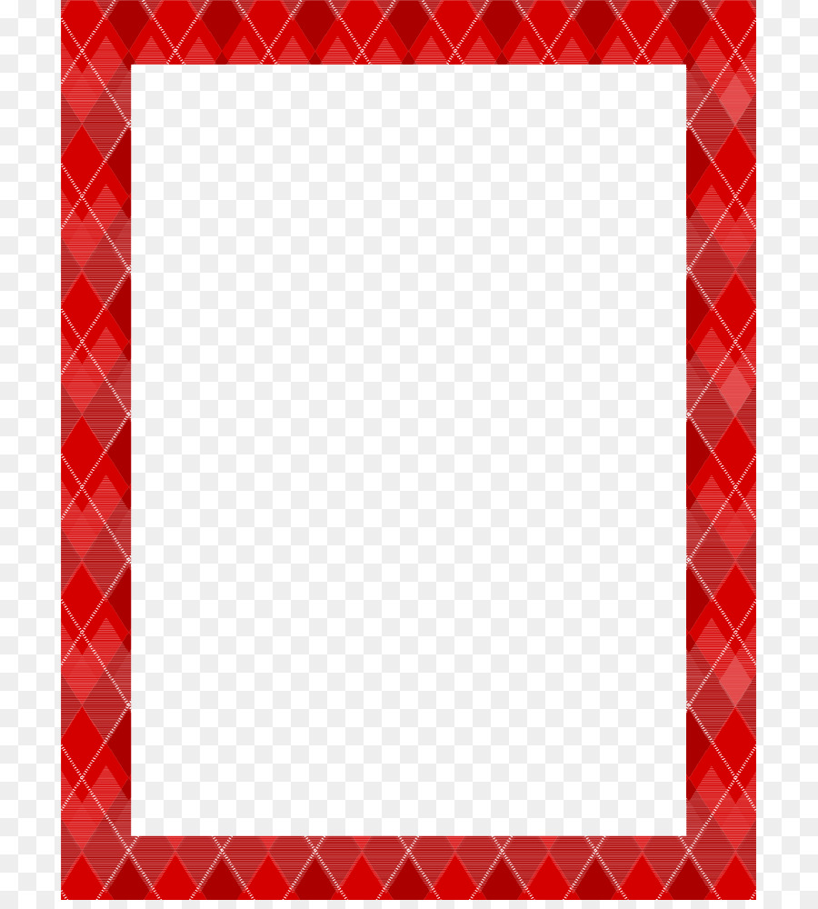 Red Textile Square Pattern - Maroon Border Frame PNG Photo png ...