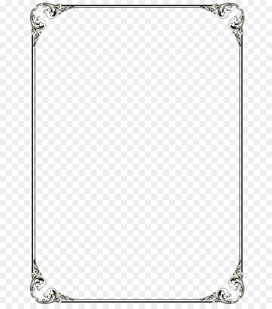 Borders And Frames Area png download - 736*1016 - Free Transparent