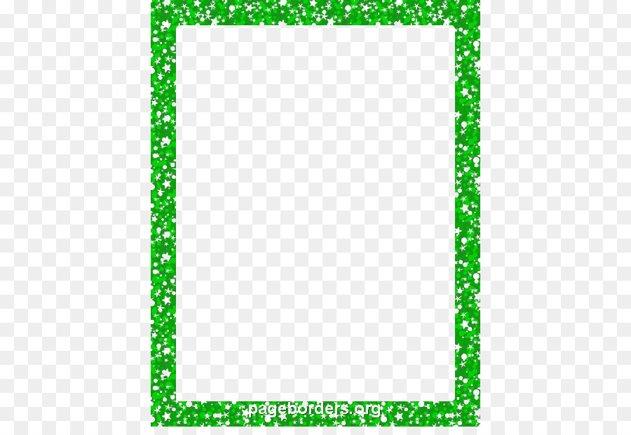 Paper Glitter Purple Gold Clip art - Green Border Frame PNG ...