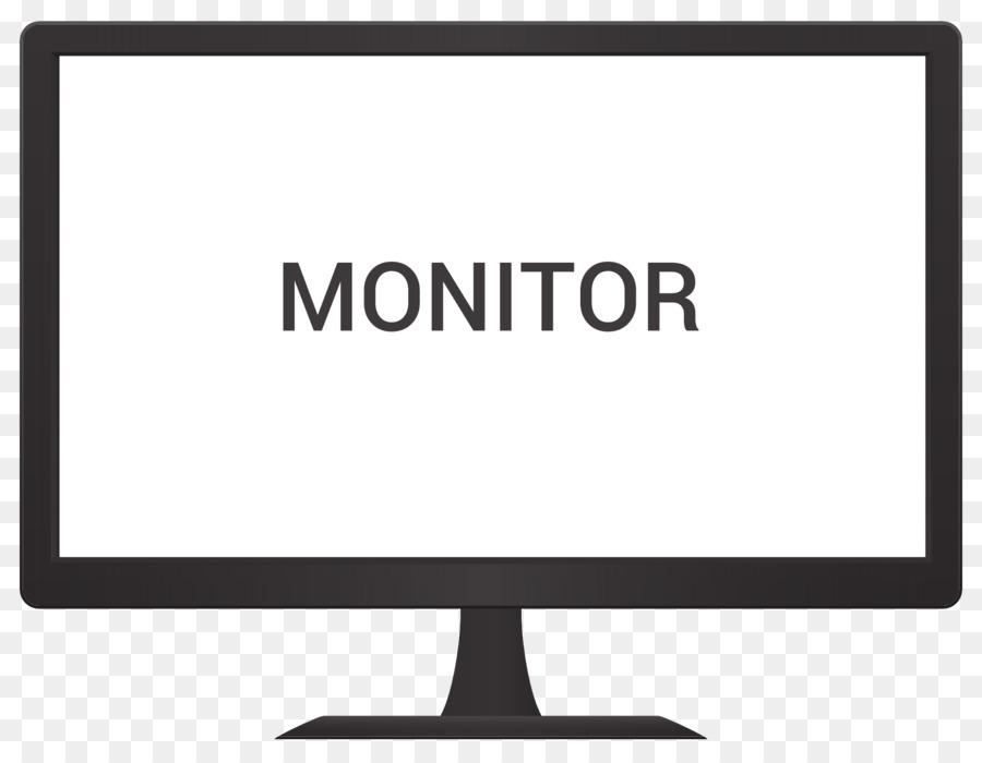 Computer Monitor Logo Monitor Vector Png Download 2000