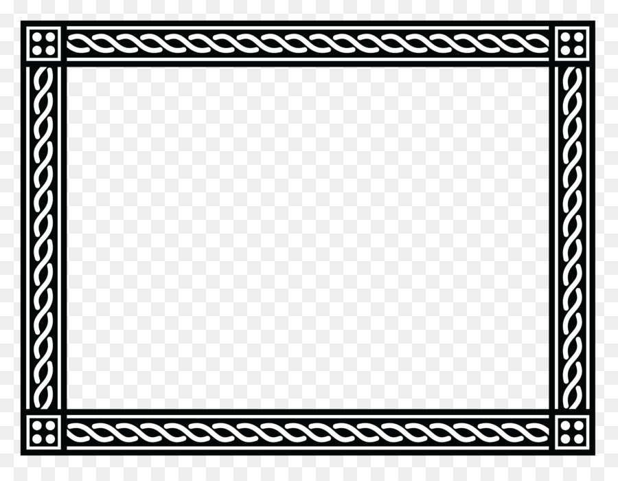 Template Microsoft Word Rxe9sumxe9 Black Border Frame Png Free