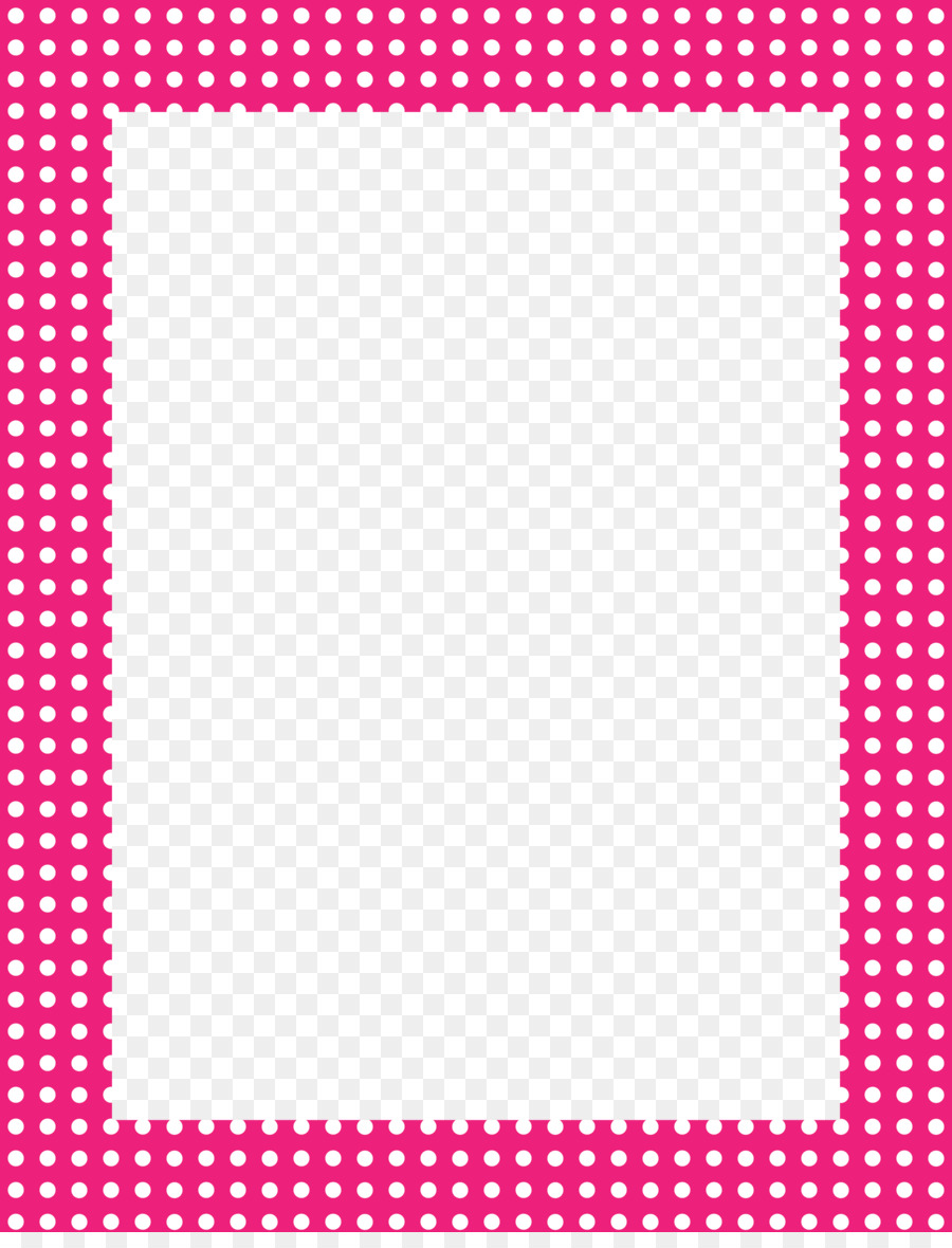 Birthday Wish list Learning Child Time - Fuchsia Border Frame PNG ...