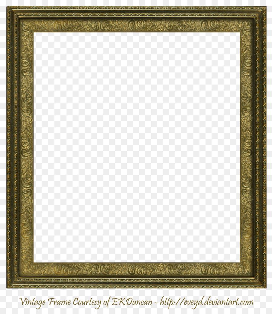 Picture frame Square Clip art - Square Frame PNG Transparent Image ...