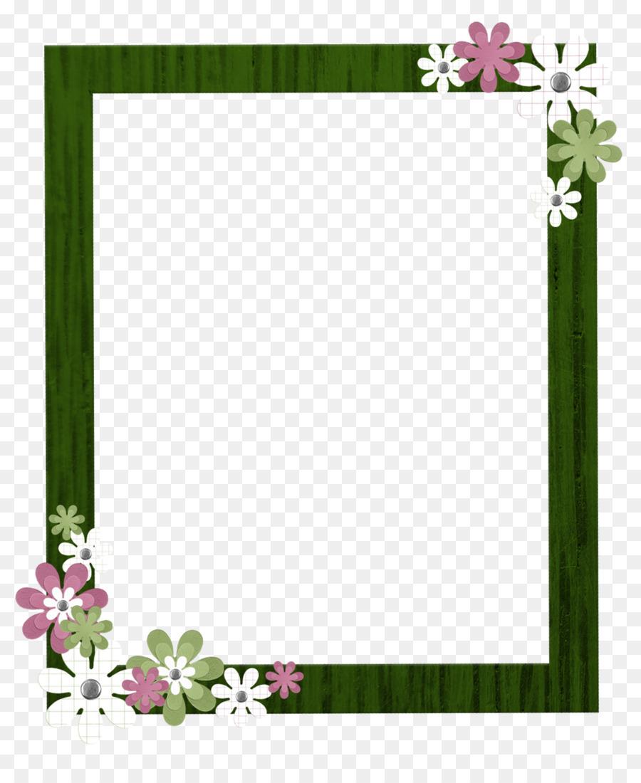 Picture frame Download Clip art - Green Border Frame PNG Clipart png ...