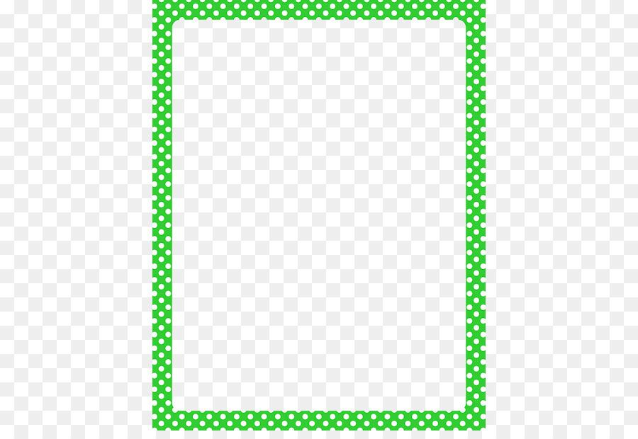 Polka dot Red Clip art - Lime Border Frame PNG HD png download - 470 ...
