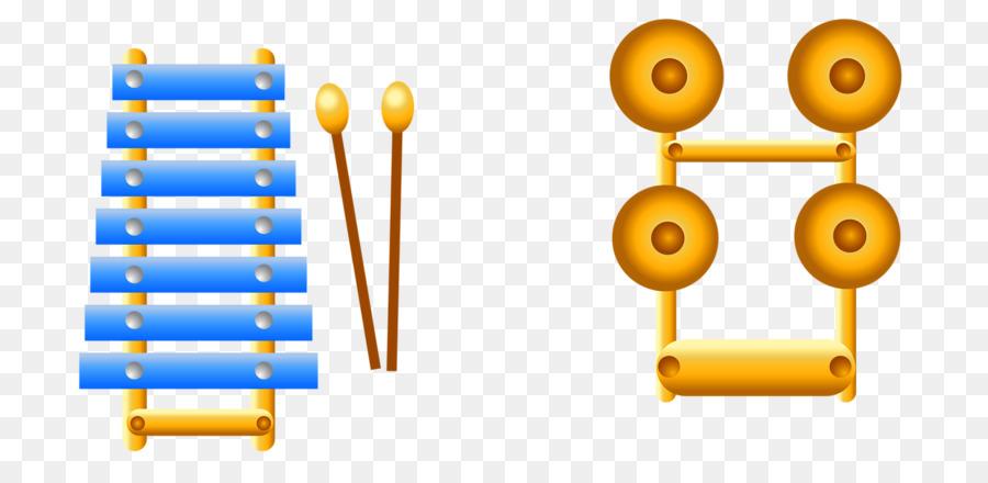 Tambour Instrument De Musique A Percussion Dessin Anime Xylophone