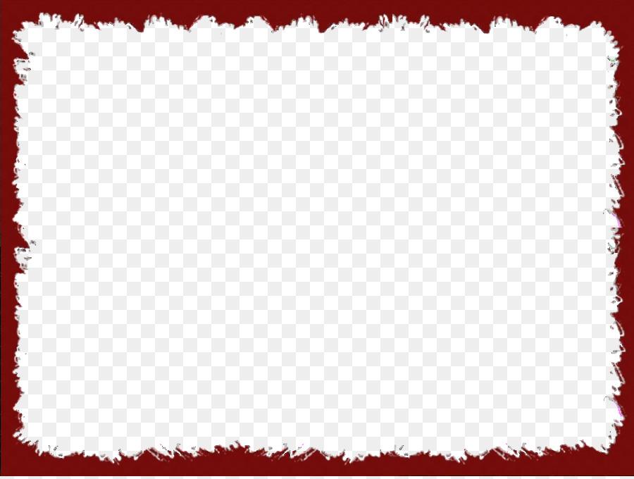Picture frame Clip art - Red Border Frame PNG Transparent Image png ...