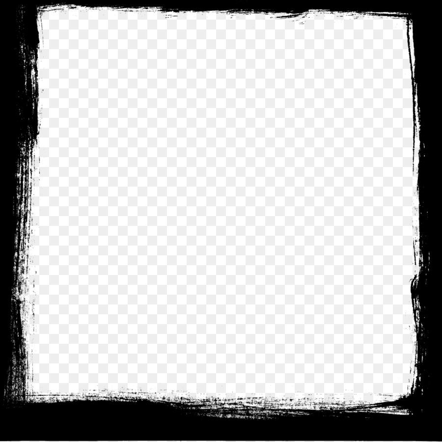 En blanco y negro Tablero de ajedrez Patrón Cuadrado - Marco ...
