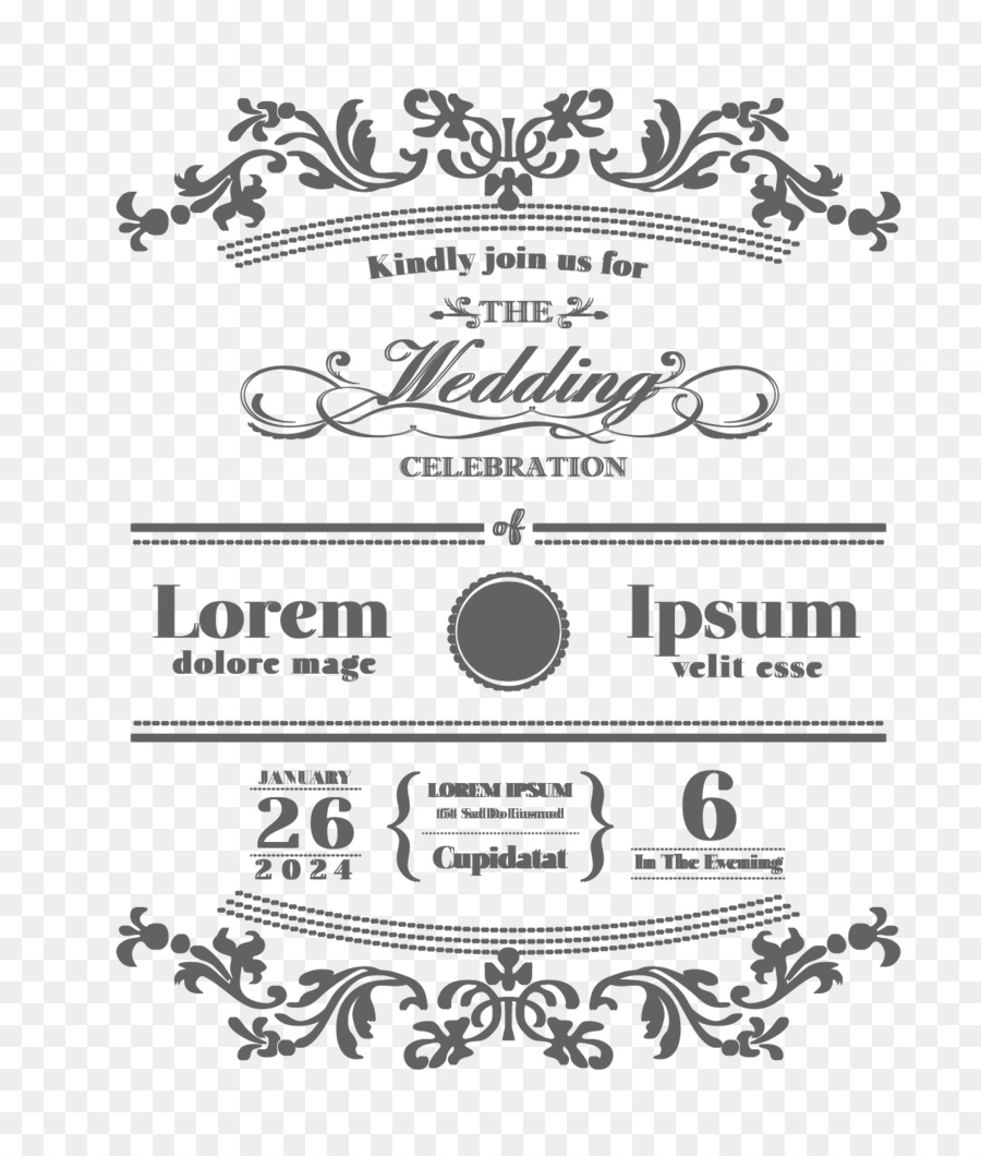 Wedding invitation Logo Font - Wedding card requirements png ...