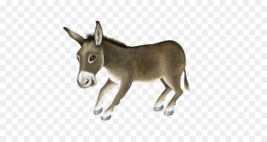 dominick the donkey christmas card stock illustration cartoon little donkey