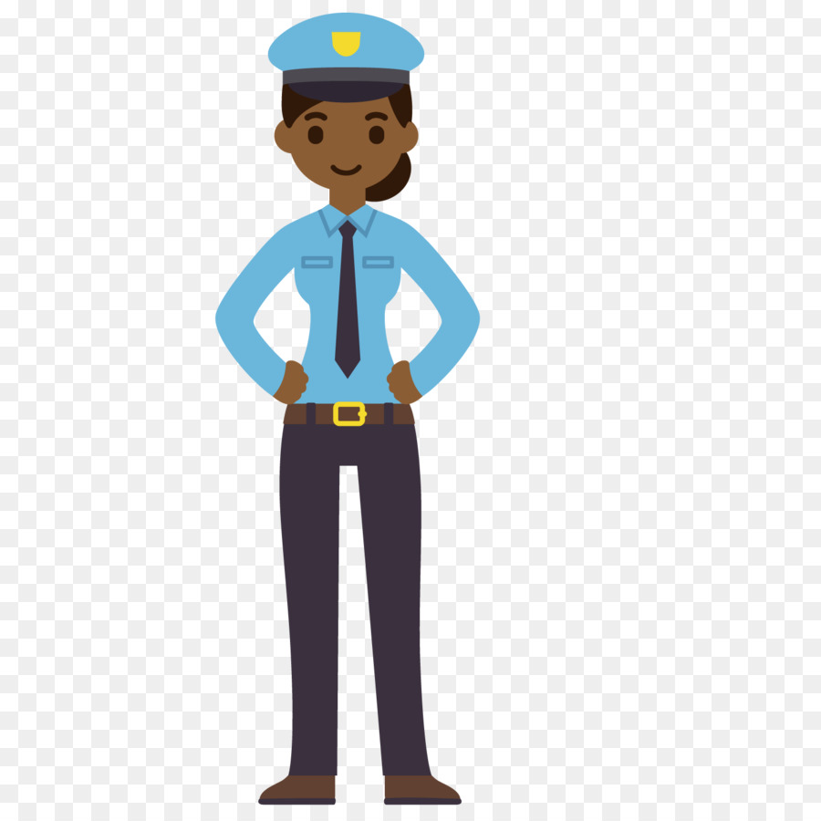 Cartoon Drawing Animation - A uniformed traffic policeman png ...