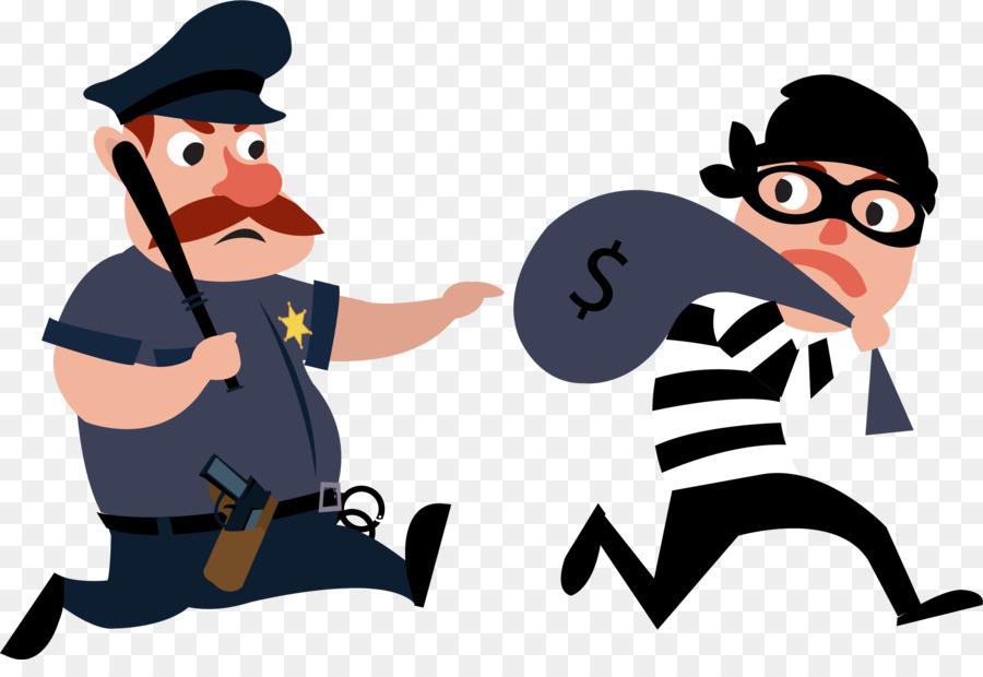 Theft Police Officer Euclidean Vector