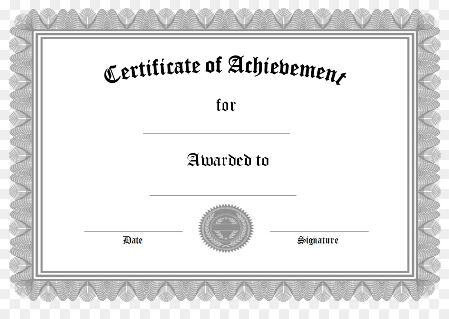 Academic Certificate Template Graduation Ceremony Graduate