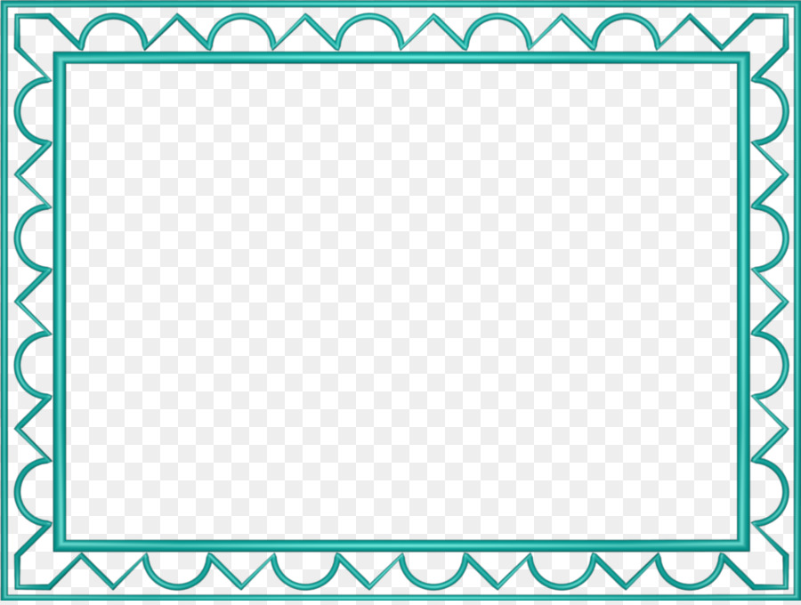 Indian New Years days New Year card Wish - Aqua Border Frame ...