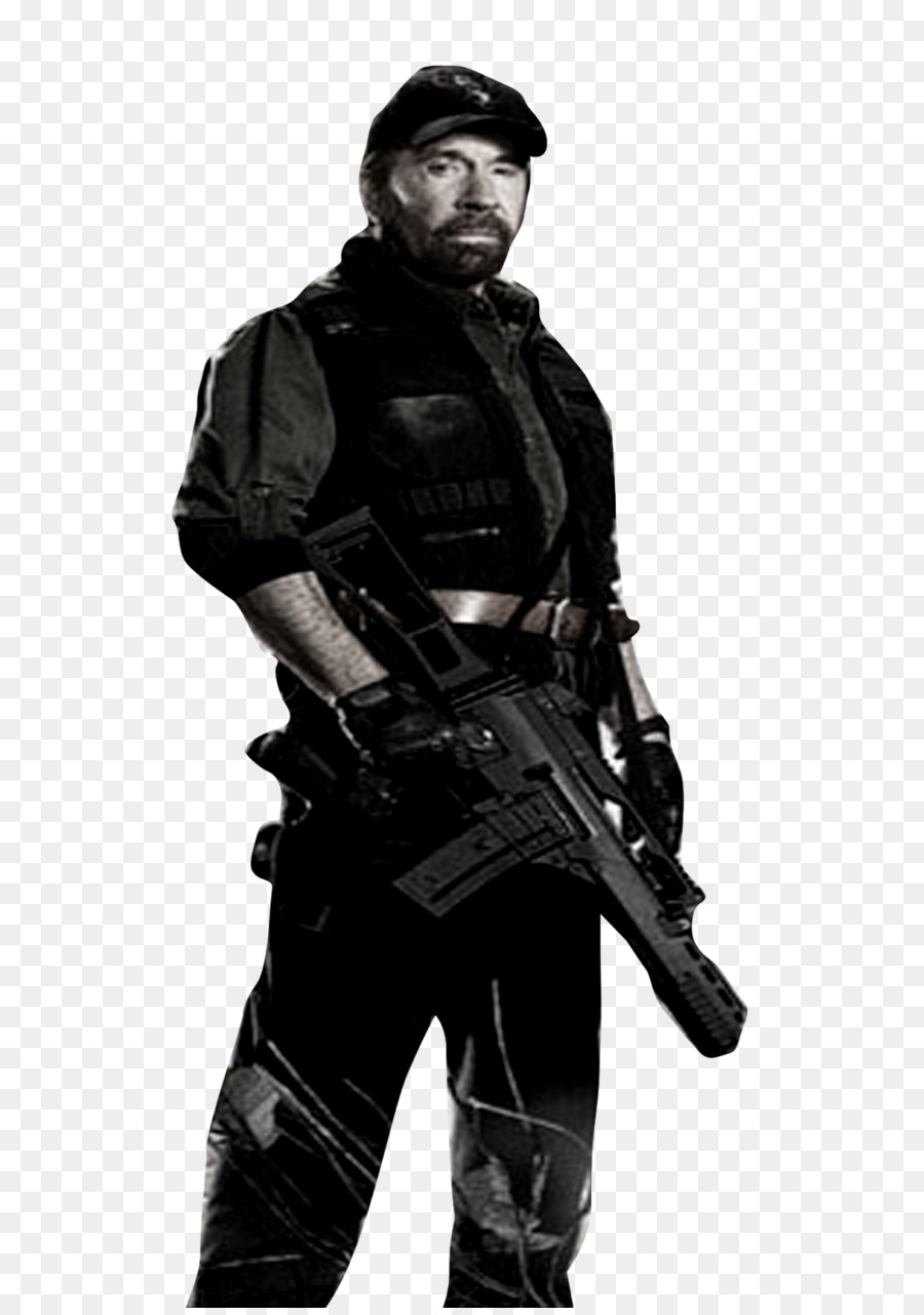 chuck norris the expendables 2 - chuck norris png file png download