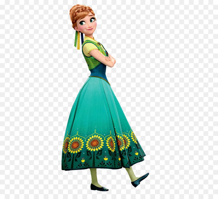 frozen  olafs quest elsa anna disney princess - anna png transparent image png download