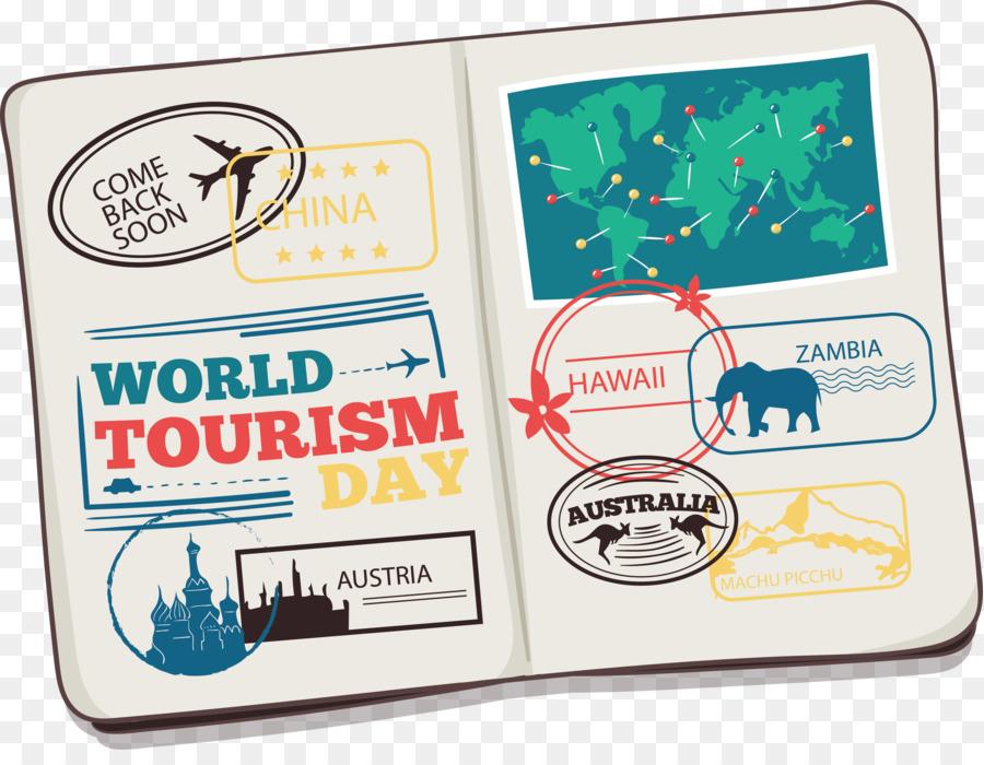 International Passport Travel Visa Euclidean Vector Icon