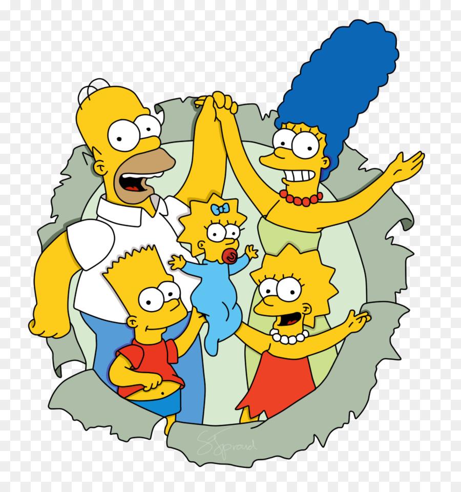 Lisa Simpson Homer Simpson Los Simpson para Colorear Libro: Un Gran ...