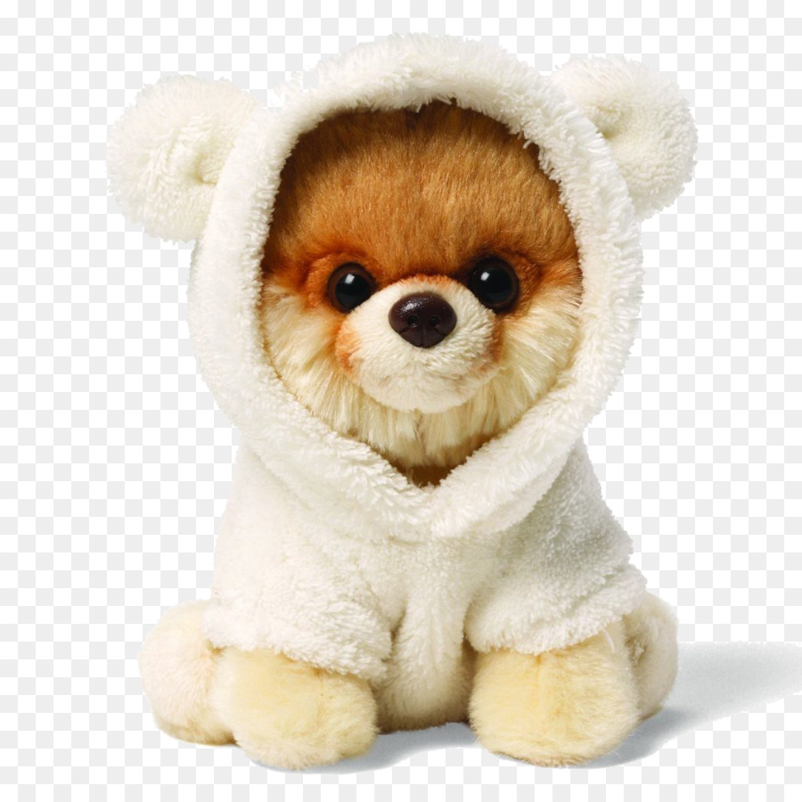 Pomeranian Boo Bear Stofftier Gund Boo Hund Png Clipart Png