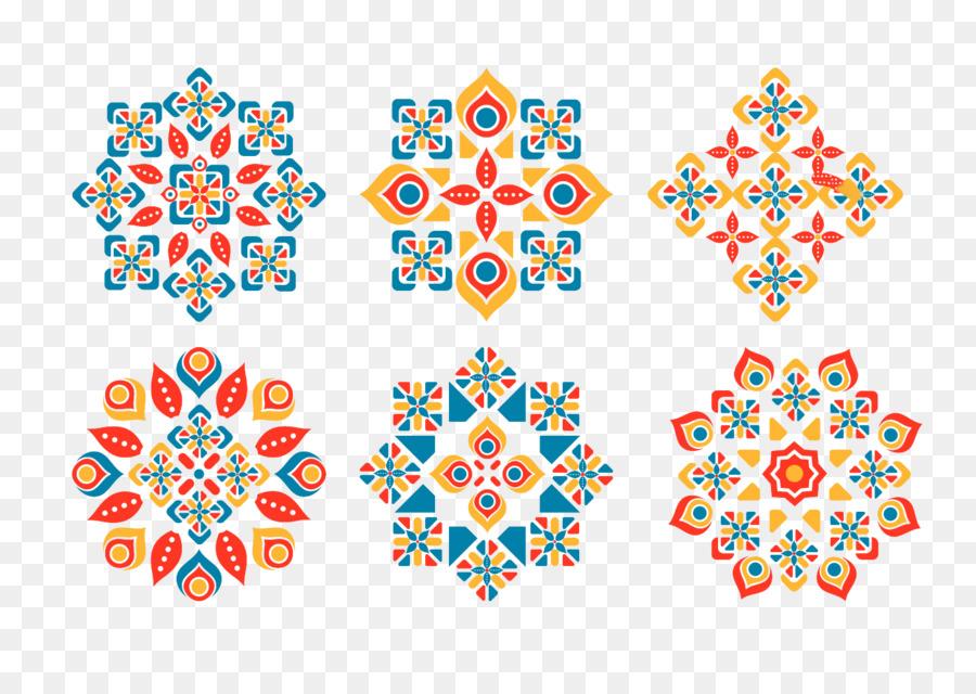 Ornamento Islámica patrones geométricos Euclidiana del vector ...