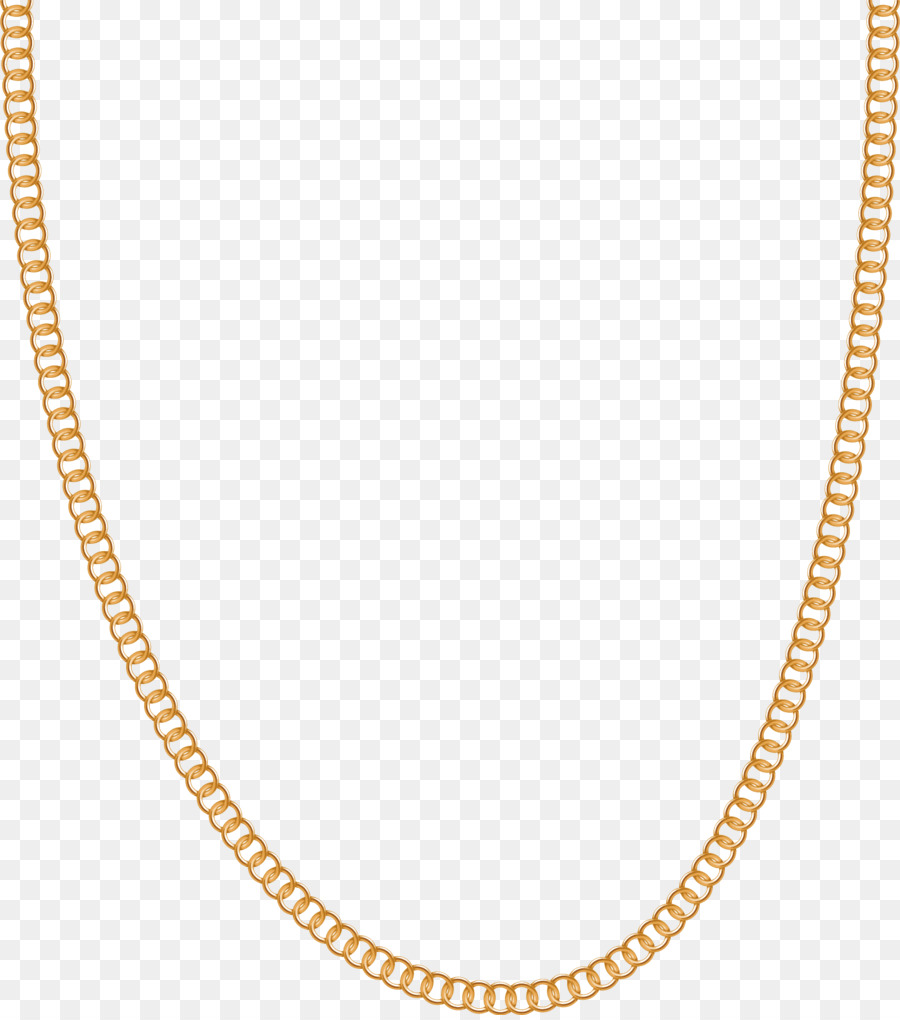 Necklace Jewellery Gold Chain Carat Chain Vector 1598