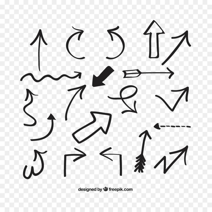 arrow euclidean vector vector hand drawn arrows png download