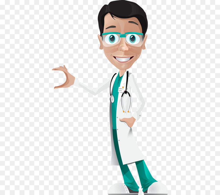 Physician Patient Cartoon Doctor Png Download 475 800