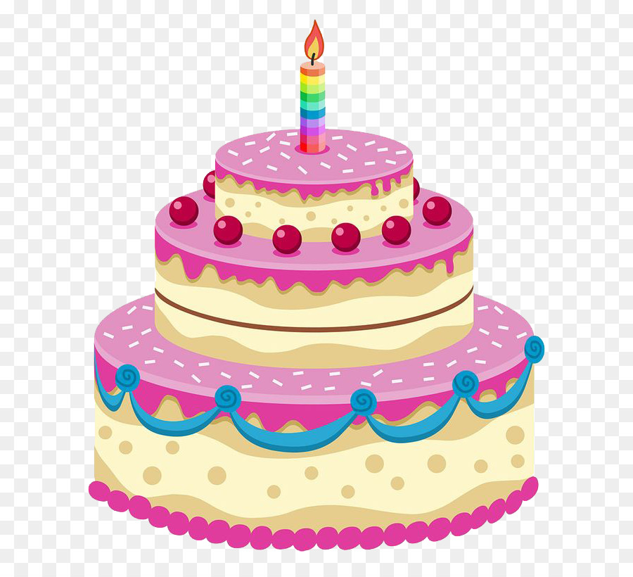 Birthday Cake Icing Birthday Cake Png Image Png Download 736811