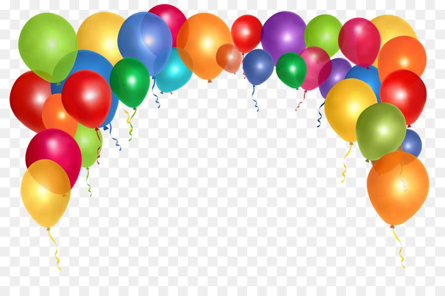 Balloon Clip Art Colorful Balloons 2500 1644 Transprent