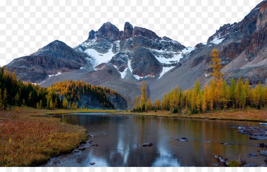 Mountain River Nature 4K Resolution Wallpaper