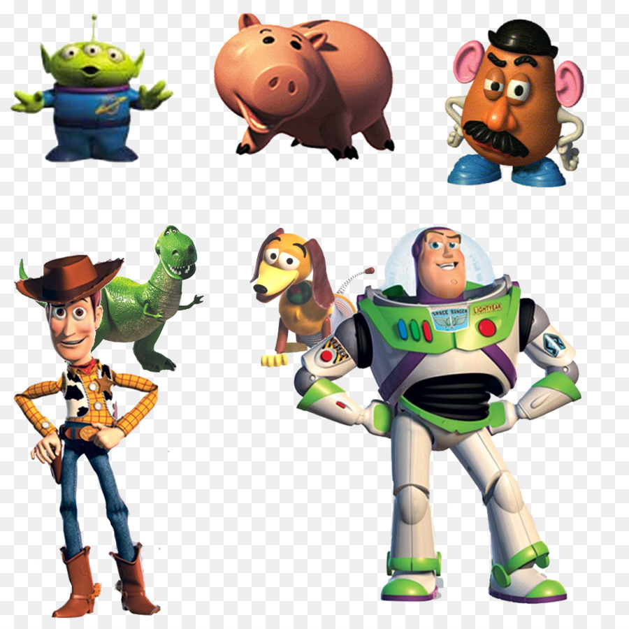 Toy Story 2 Buzz Lightyear To The Rescue Jessie Sheriff Woody - Toy Story Characters PNG Photos ...