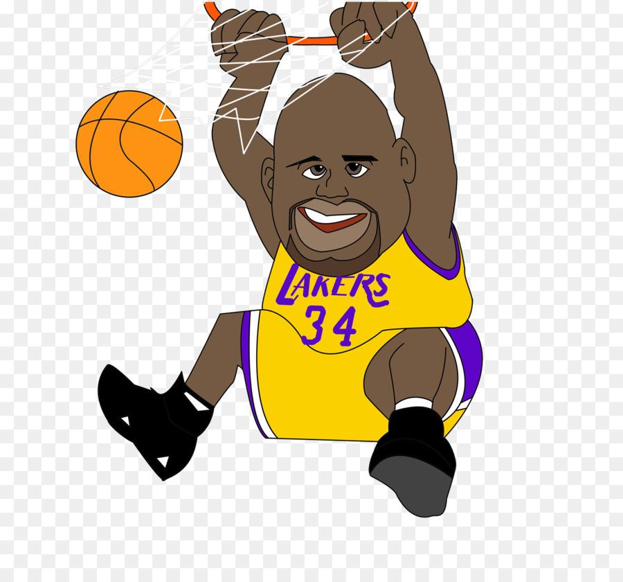 Nba All Star Game Los Angeles Lakers Basketball Cartoon Nba Star