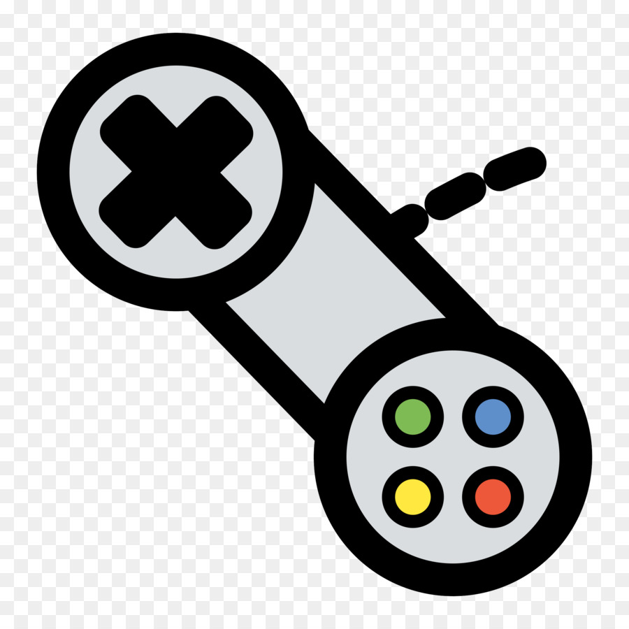Xbox 360 controller Game controller Video game Clip art - Games PNG ...