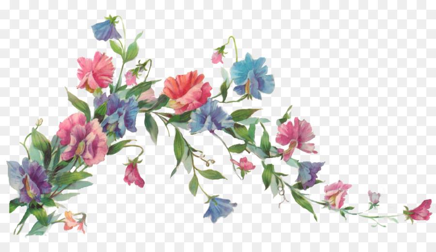 Flower paper painting clip art flower vine png download 900512 flower paper painting clip art flower vine mightylinksfo