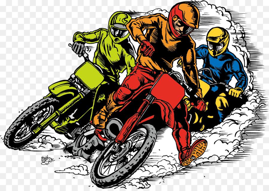 Motorcycle Racing Car Clip Art