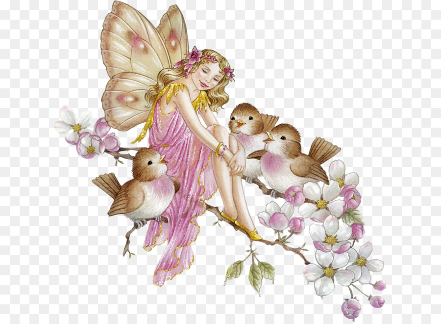Fairy flower. Flowers clipart background png