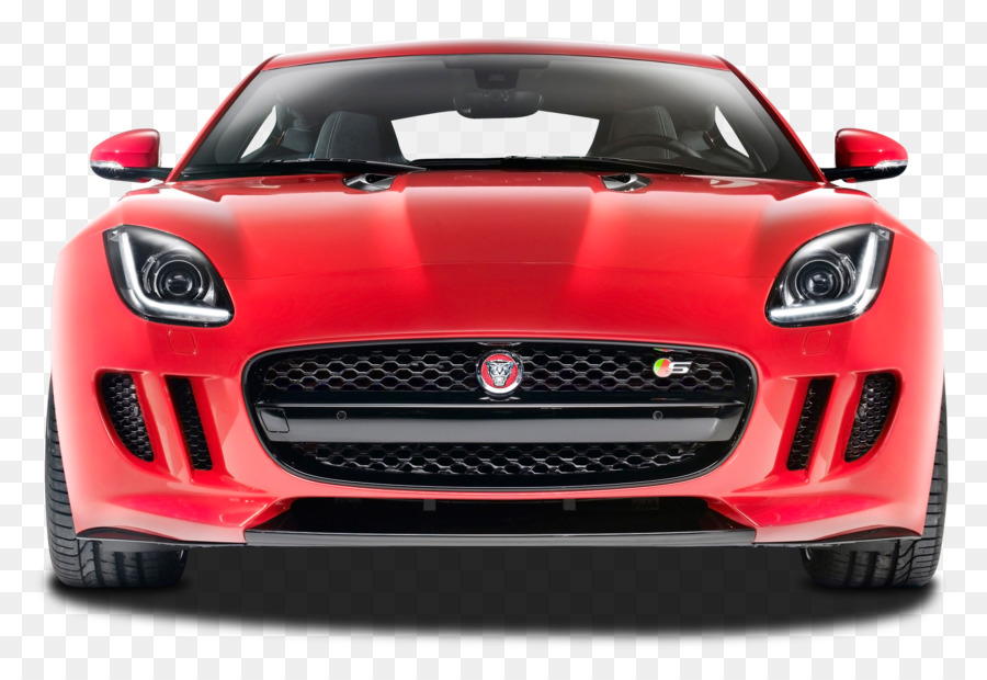 2015 Jaguar F TYPE R Coupe 2017 Jaguar F TYPE Sports Car   Front View Of  Jaguar F Type R Car